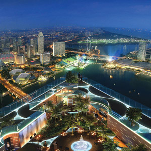 Altitide rooftop bar Singapore