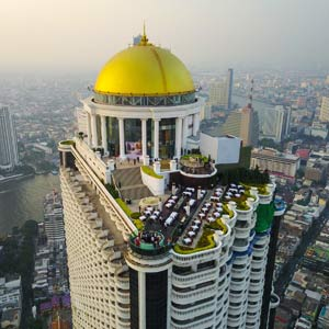 Sirocco rooftop bar Bangkok