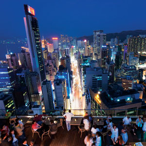 Wooloomooloo rooftop bar Hong Kong