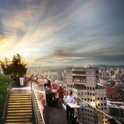 Highest rooftop bars in the world