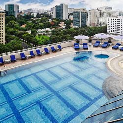 Best rooftop pools in Ho CHi Minh City