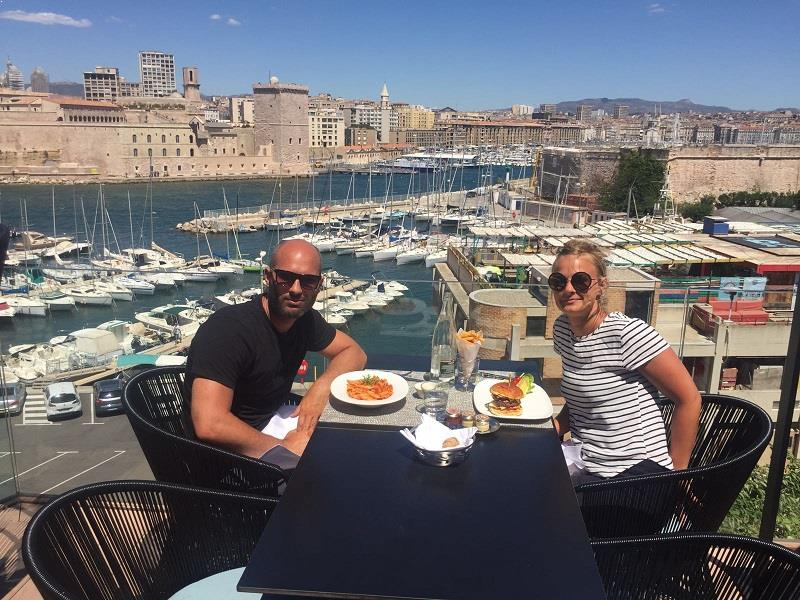 Full Day At Marseilles Best Rooftop Bar At Hotel Sofitel Marseille