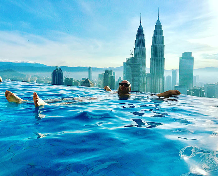 Luxury Rooms And Stunning Rooftop Pool At The Face Suites In Kuala Lumpur Therooftopguide Com