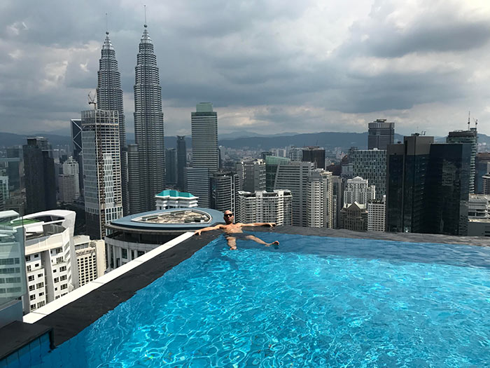 Luxury rooms and stunning rooftop pool at The Face Suites