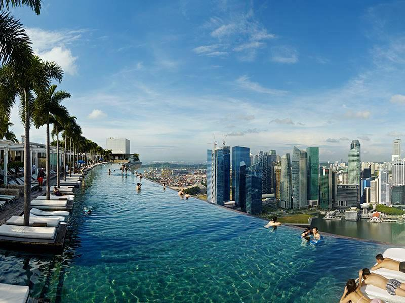 7 amazing hotels with rooftop bar therooftopguide com - Tallest swimming pool in the world ...