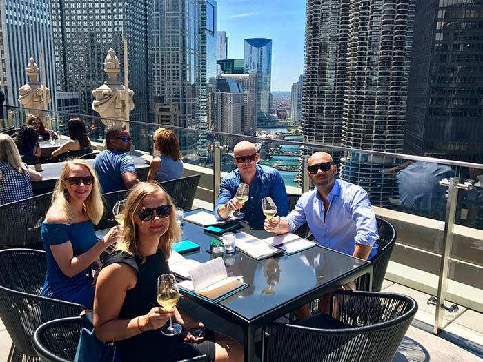 Midsummer lunch-party at LH Rooftop Chicago | The Rooftop ...