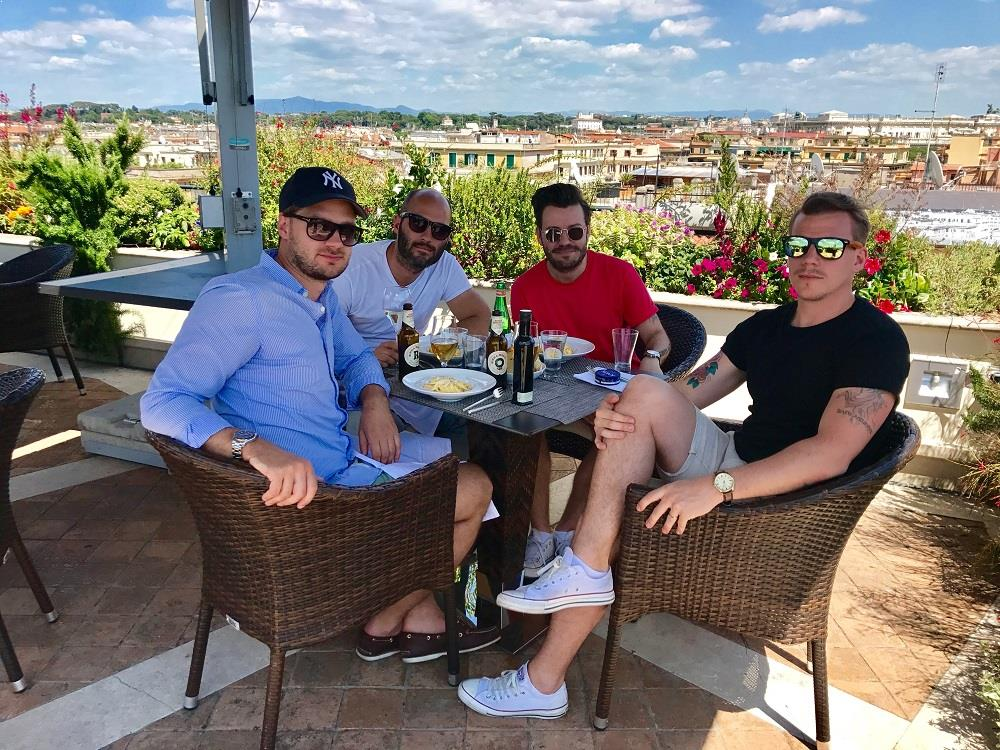 Rooftop Brunch At Hotel Atlante Star In Rome The Rooftop Guide
