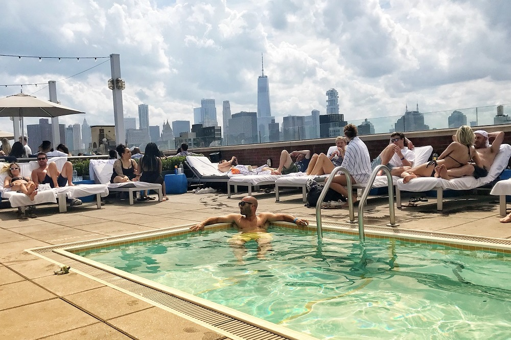 Review Of Hotel Indigo Lower East Side And Mr Purple Rooftop Bar