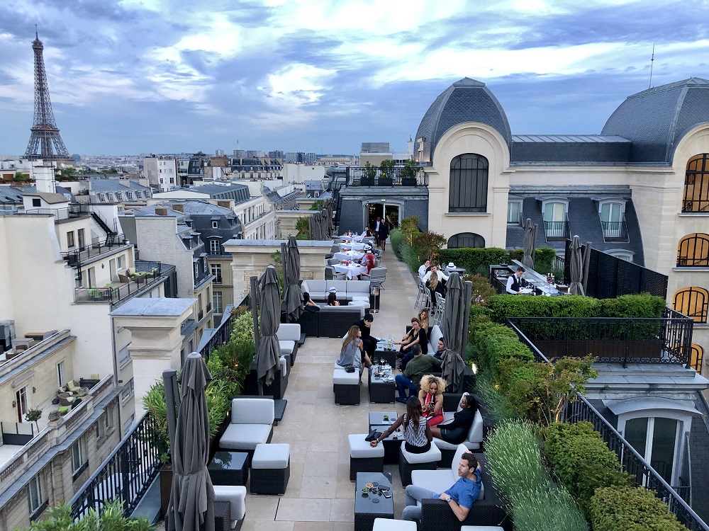 Review Of The Amazing Rooftop Restaurant Called L Oiseau