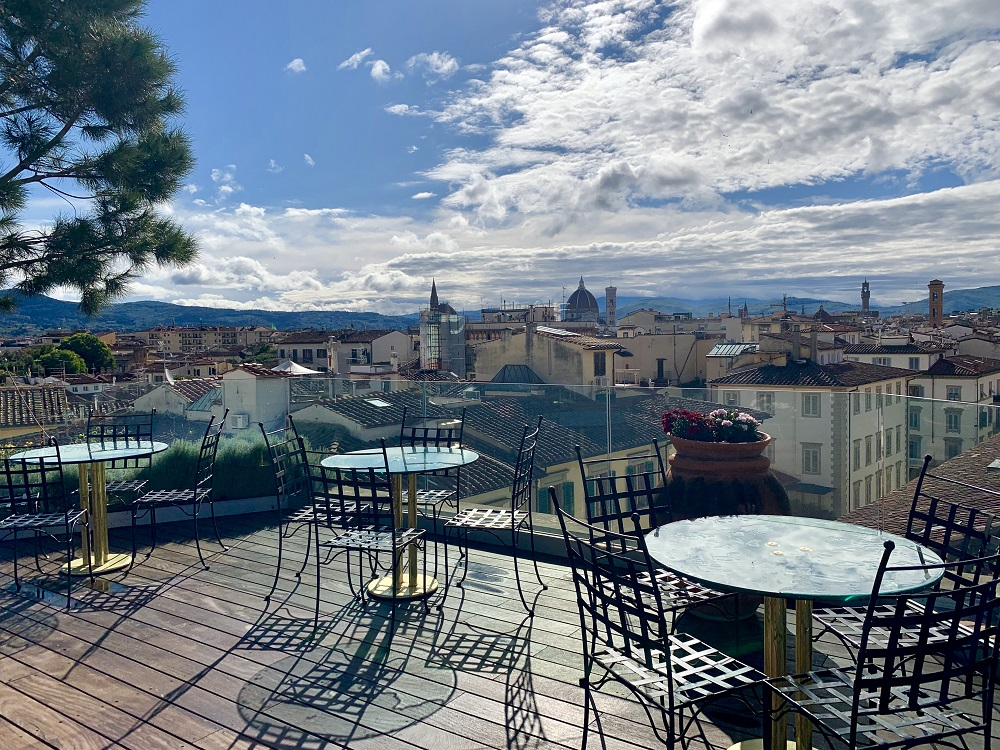 Full Review Of Terrazza Rossini At Hotel Kraft In Florence