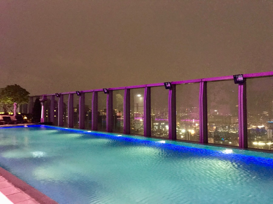 W Hong Kong And One Of The World S Highest Rooftop Pools