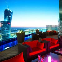 Rooftop bar Relax@12 in Abu Dhabi