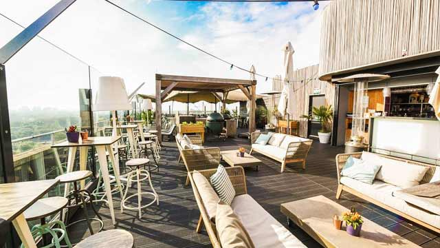 Rooftop bar Amsterdam Floor 17