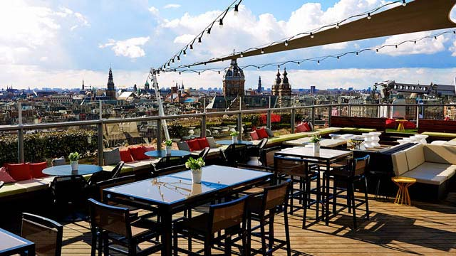 Best Rooftop Bars In Amsterdam 2018 Complete With All Info
