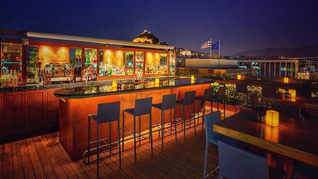 GB Roof Garden Restaurant & Bar - Rooftop Bar In Athens | The Rooftop Guide