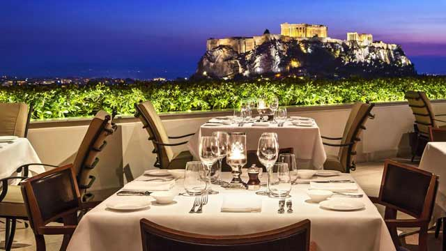 GB Roof Garden Restaurant & Bar - Rooftop Bar In Athens   The Rooftop Guide