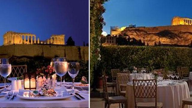 Metropolis Roof Garden Rooftop Bar In Athens The