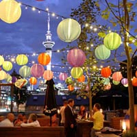 Rooftop bar Auckland La Zeppa Kitchen and Bar
