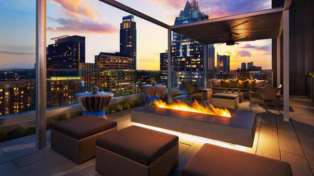 Rooftop The Westin Austin Downtown Rooftop bar in Austin
