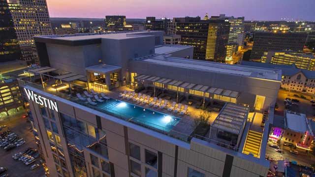 Azul at The Westin Austin Downtown - Rooftop bar in Austin ...