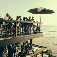 Rooftop bar Bali Single Fin Bar in Bali
