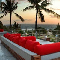 Rooftop bar Bali Tao Beach House Reastaurant in Bali