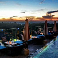 Rooftop bar Bali Unique Rooftop Bar in Bali