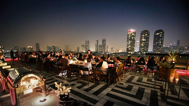 Rooftop bar Bangkok Hotel Once in Bangkok