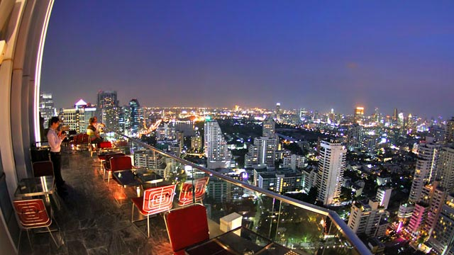 Rooftop bar Bangkok L'Appart in Bangkok