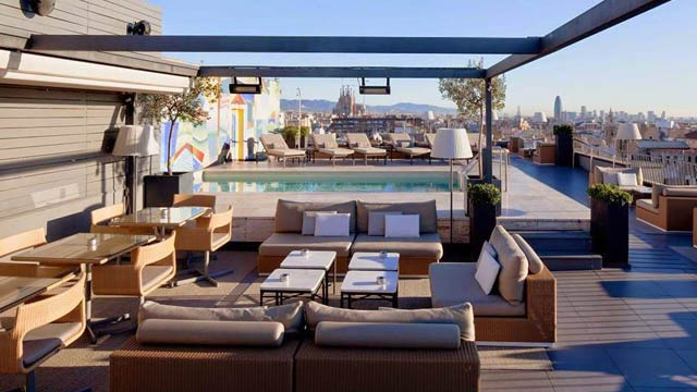 La Isabela At Hotel 1898 Rooftop Bar In Barcelona The