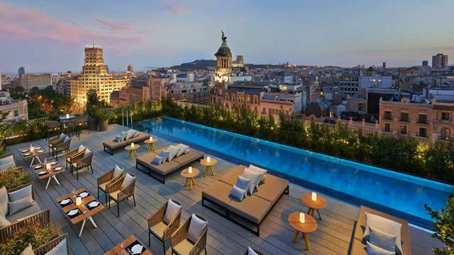 Rooftops Barcellona