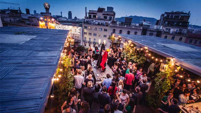 The Pulitzer Terrace Rooftop Bar In Barcelona The