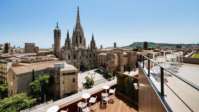 Panoramic Terrace At Hotel Col 243 N Rooftop Bar In