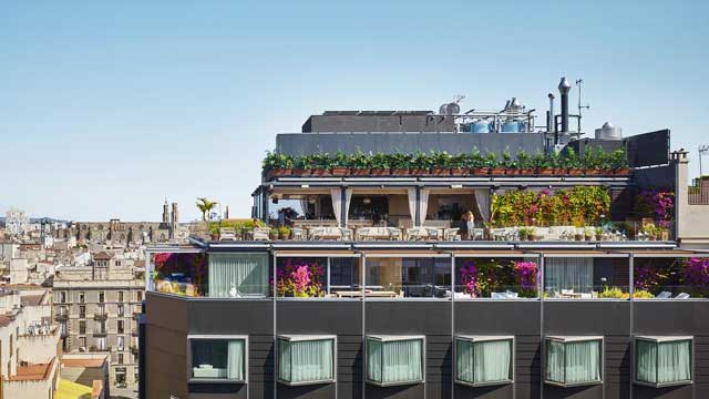 The Roof at The Barcelona EDITION - Rooftop bar in ...