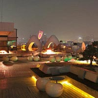 Rooftop bar Beijing Migas in Beijing