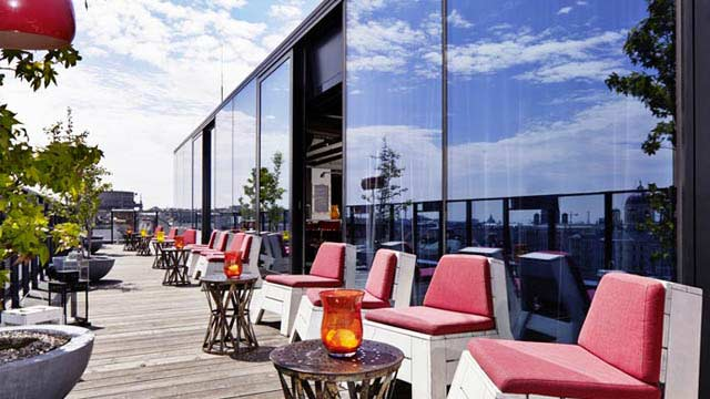 monkey bar rooftop bar in berlin therooftopguide com. Black Bedroom Furniture Sets. Home Design Ideas