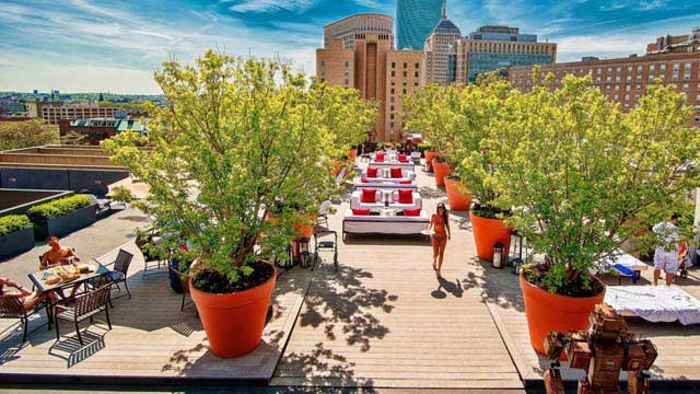 Boston Rooftop Bar: Rooftop At Revere