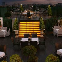 Rooftop bar Bucharest Domenii Plaza by Residence Hotels in Bucharest