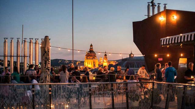 360 Bar Budapest Rooftop Bar In Budapest Therooftopguide Com