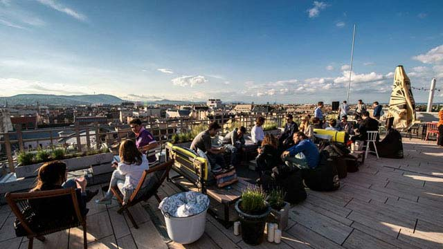 360 Bar Budapest Rooftop Bar In Budapest The Rooftop Guide
