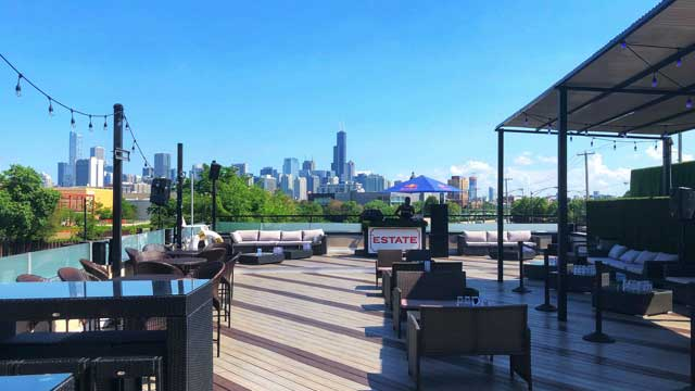 ESTATE Ultra Bar - Rooftop bar in Chicago | The Rooftop Guide