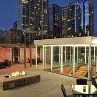 Rooftop bar Chicago III Forks Steakhouse & Bar in Chicago