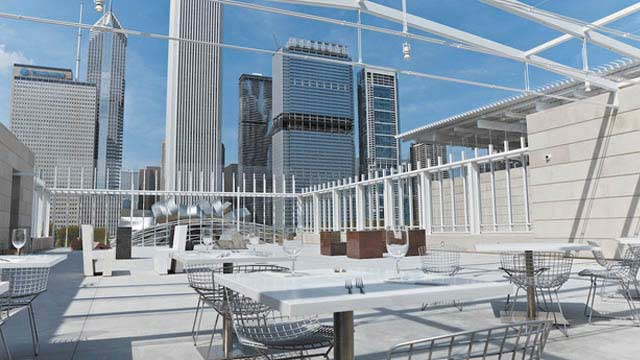 Rooftop bar Chicago Terzo Piano in Chicago