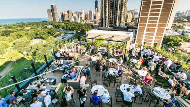 The Parker Rooftop Bar Chicago Guide
