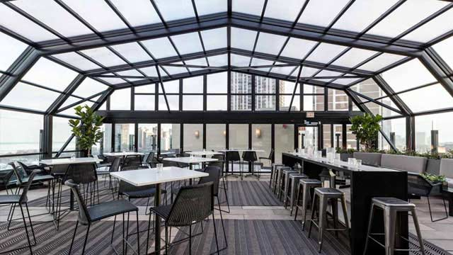 The J Parker Rooftop Bar In Chicago The Rooftop Guide