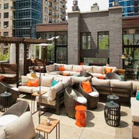 Rooftop bar Chicago Zed451 in Chicago