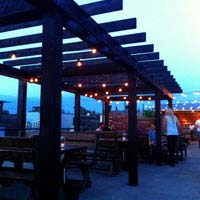 Rooftop bar Dallas HG Sply