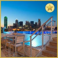 Rooftop bar Dallas NYLO Dallas South Side in Dallas
