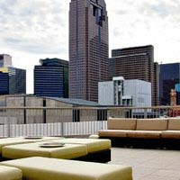 Rooftop bar Dallas Tei-An in Dallas