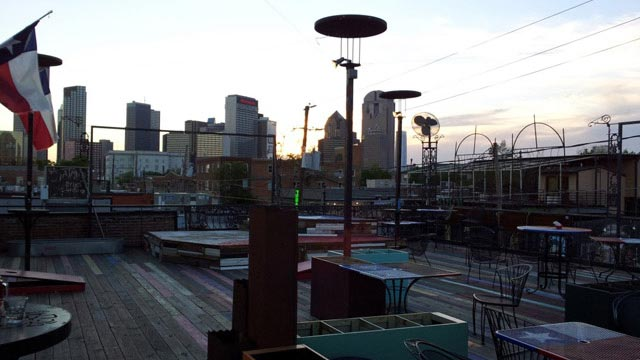 Rooftop bar Witsend in Dallas : rooftops in dallas - memphite.com